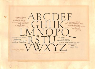 [Alphabet] / Hermann Zapf