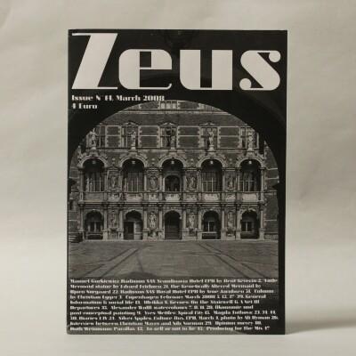 Zeus, Issue N.14, March 2008 / Christian Egger [et.al.]