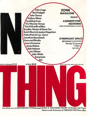 Nothing / Dikko Faust