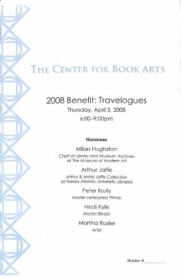 [2008 annual benefit program and auction guide]