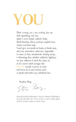 You / Stephen Berg