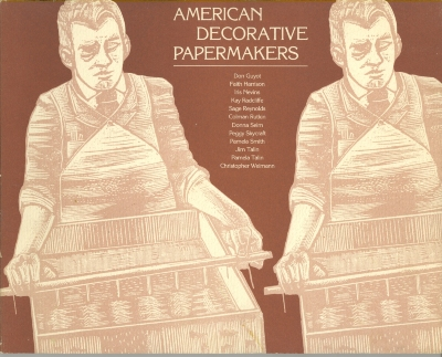 American decorative papermakers : the work & specimens of twelve craft artists / introduction, glossary & bibliography by Don Guyot