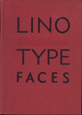 Specimen book linotype faces / Mergenthaler Linotype Company