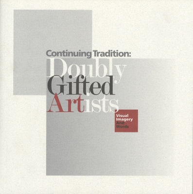 Continuing Tradition: Doubly Gifted Artists, Visual Imagery and Words / V.B.Halpert [ed.]