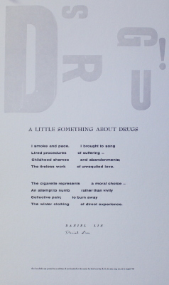 A Little Something about Drugs / Daniel Lin