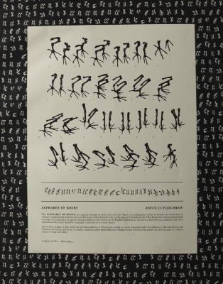 Alphabet of Bones / Joyce Cutler-Shaw