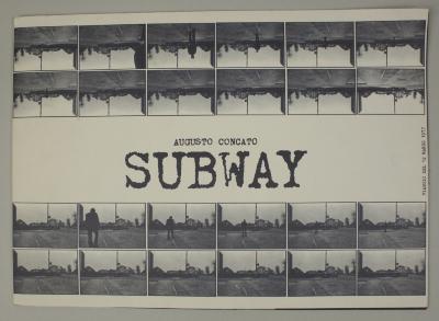 Subway: Viaggio de 12 Marzo 1977 / Augusto Concato, Vito Boggeri