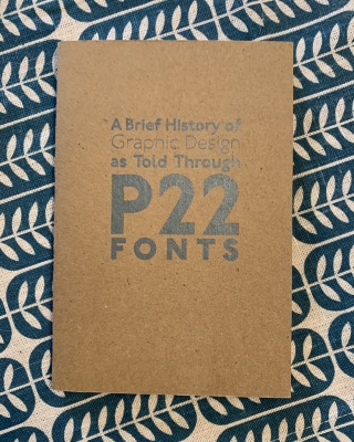 A Brief History of Graphic Design as Told Through P22 Fonts / P22 Type Foundry