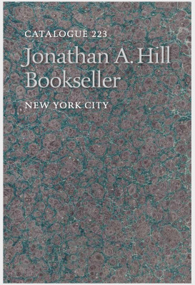 Catalogue 223: Science, Medicine & Natural History / Jonathan A. Hill, Bookseller, Inc.