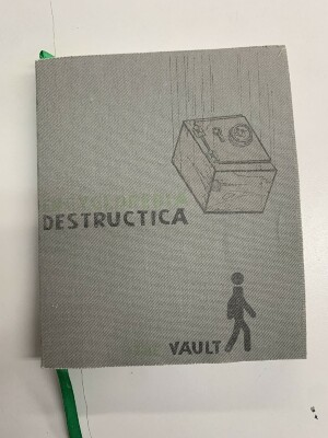 The Vault: The Collected Volume Atum of Encyclopedia Destructica / edited by Christopher Kardambikis and Jasdeep Khaira