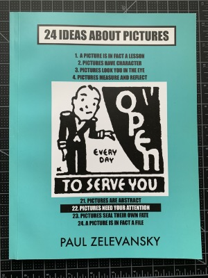 24 Ideas About Pictures / Paul Zelevansky