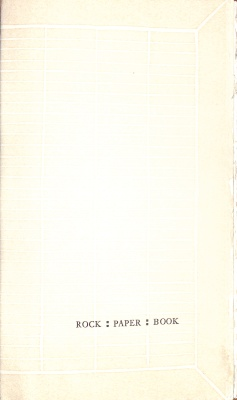 Rock, Paper, Book / Kitty Maryatt, Scripps College Press
