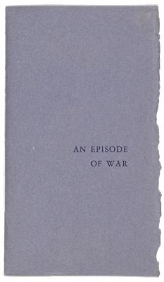 An Episode of War / Battle Press; Stephen Crane