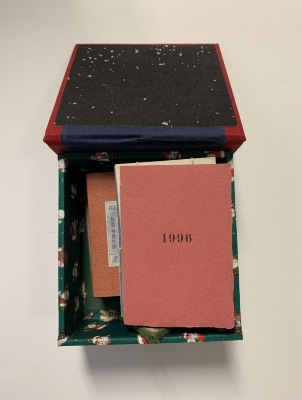 [Box with Miscellaneous Books] / Helen Buttfield [et.al.]