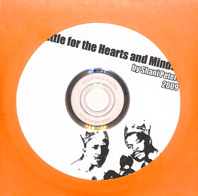 Battle for the Hearts and Minds [DVD; ephemera] / Shani Peters