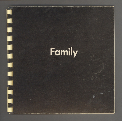 Family / Victor Burgin; Amy Baker editor