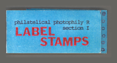 Label Stamps (philatelical photophily R, section I) / Marilyn R. Rosenberg