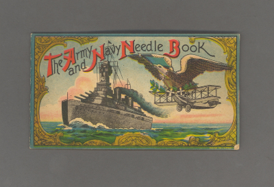 Army and Navy Needle Book / Angela Lorenz