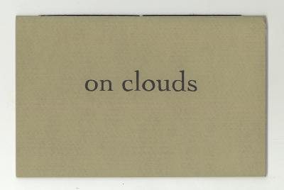 On Clouds / James Walsh