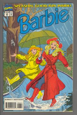 Barbie / Barbara Slate; Marvel Comics