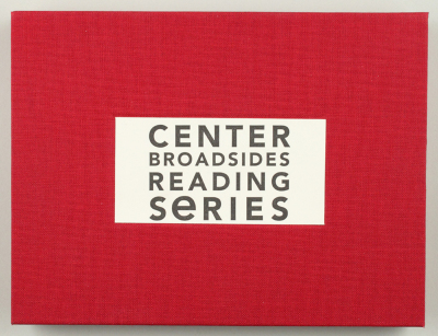 Center for Book Arts Broadsides Reading Series [2006] / The Center for Book Arts, et.al.