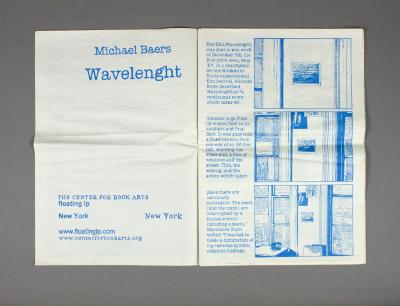 Wavelenght / Michael Baers