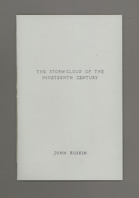 The Storm Cloud of the Nineteenth Century / James Walsh