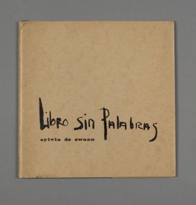 Libro Sin Palabras / Sylvia de Swaan