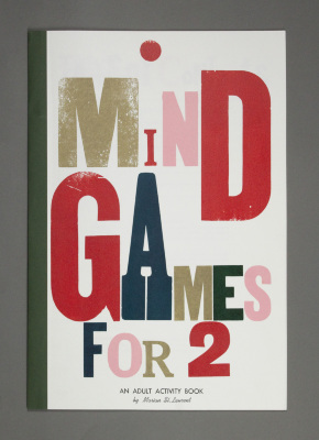 Mind Games For 2: An Adult Activity Book / Marian St. Laurent