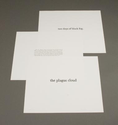The Black Cloud [portfolio of prints] / James Walsh