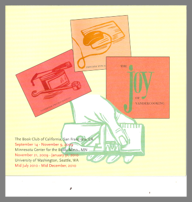 The Vandercook Proof Press Celebrates Its 100th Birthday: 1909-2009 / Barbara Henry and Roni Gross