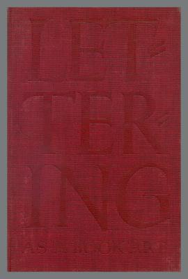Lettering as a Book Art / Oscar Ogg