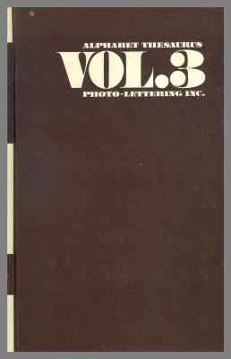 Alphabet Thesaurus, Vol. 3 / Edward Rondthaler, ed.