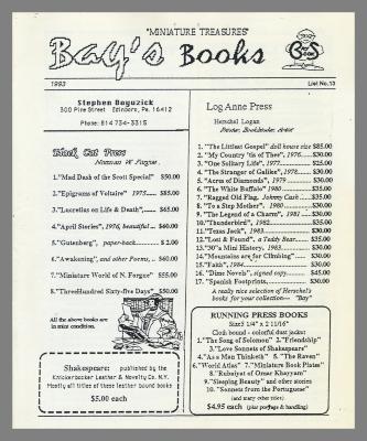 Bay's Books / Stephen Bayuzick