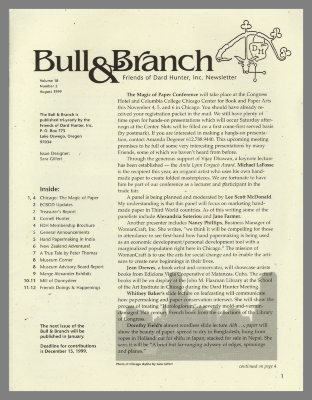 Bull & Branch / Friends of Dard Hunter, Inc.