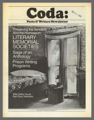 Coda: Poets & Writers Newsletter / Poets & Writers, Inc.
