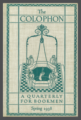 The Colophon, New Series: A Book Collectors' Quarterly / Elmer Adler, Alfred Stanford, John T. Winterich, eds.