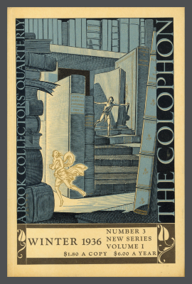 The Colophon New Series: A Quarterly for Bookmen, vol. 1, no. 3 / Elmer Adler, Alfred Stanford, John T. Winterich, eds.
