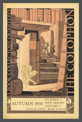 The Colophon New Series: A Quarterly for Bookmen, vol. 1, no. 2 / Elmer Adler, Alfred Stanford, John T. Winterich, eds.