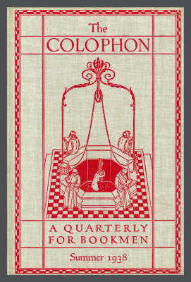 The Colophon New Series: A Quarterly for Bookmen, vol. 3, no. 3 / Frederick B. Adams, Jr., Elmer Adler, Alfred Stanford, John T. Winterich, eds.