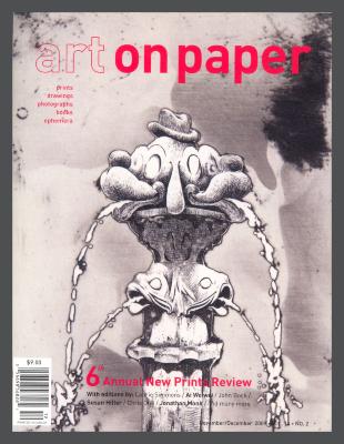 Art on Paper, v. 14, no. 2 / Darte Publishing LLC