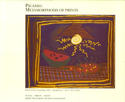 Picasso: Metamorphosis of Prints / Pablo Picasso