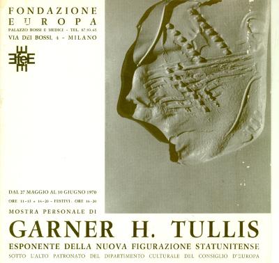 Garner H. Tullis: Esponente Della Nuova Figurazione Statunitense / Garner H. Tullis