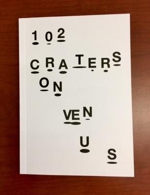 102 Craters on Venus / Sophie Nys