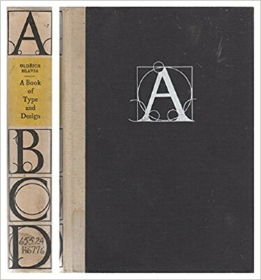 A Book of Type and Design / Oldrich Hlavsa