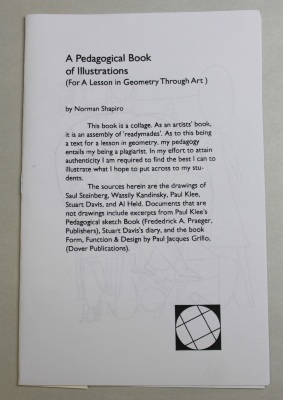 A Pedagogical Book of Illustrations (For a Lesson in Geometry through Art) / Norman Shapiro