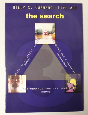 Billy X. Curmano : live art : the search--for the spiritual in art