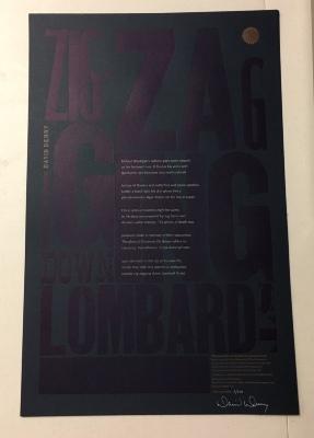 Zig Zag Going Down Lombard Street / David Denny