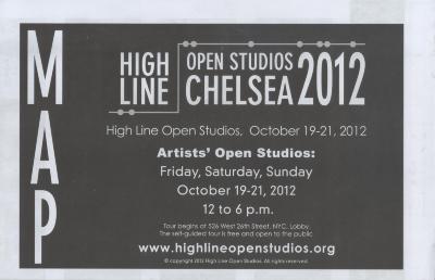 [2012 High Line Open Studios Chelsea program and guide]