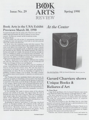 Book Arts Review, Number 29